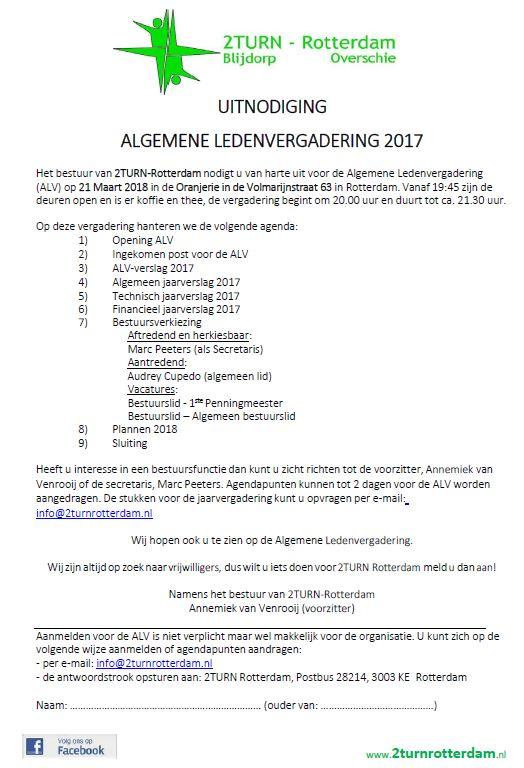 ALV2018 - Uitnodiging